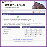 Database of Researchers